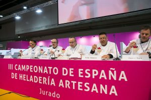 Jurado del Campeonato de España de Heladería 2019