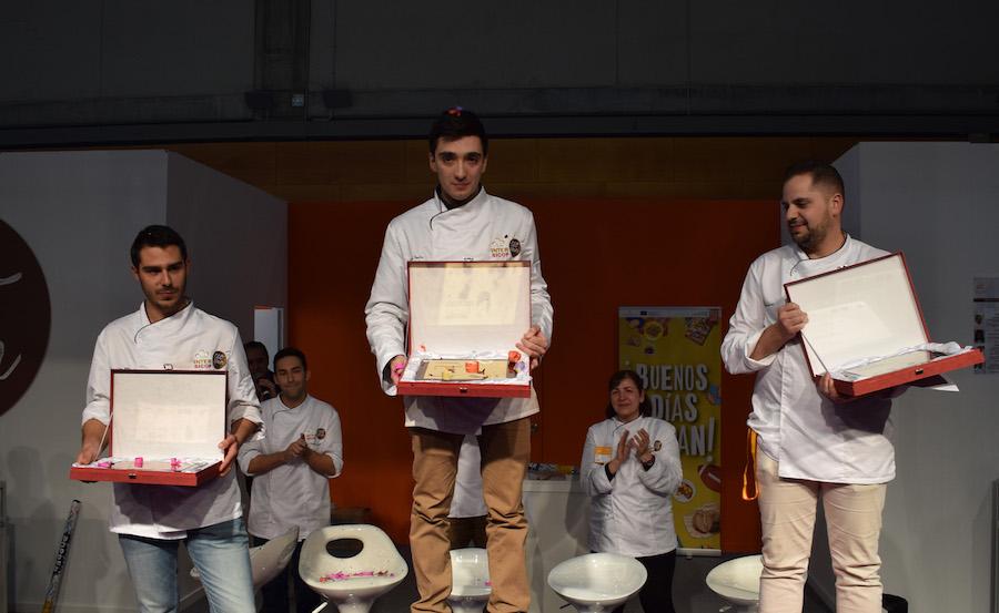 Podium del III Campeonato Nacional de panadería artesana