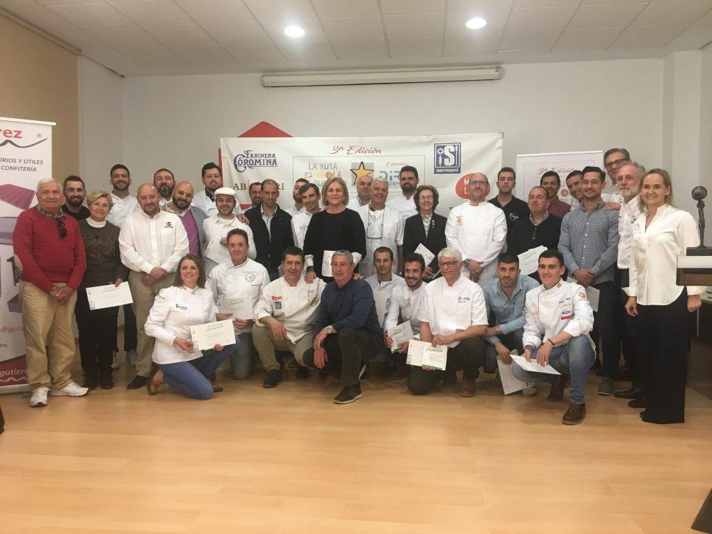 I Ruta del buen pan de Andalucía, Ceuta y Melilla - Selección