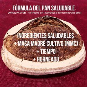 fórmula pan saludable