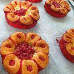 Pieza de bollería con frutos rojos para la 20ª Copa de Europa de panadería