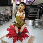 Pieza artística de Los Espigas para la 20ª Copa de Europa de panadería