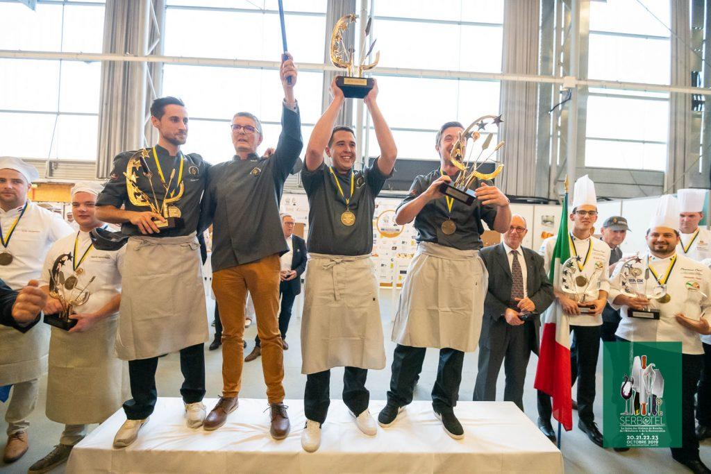 Podium de la 20ª Copa de Europa de Panadería