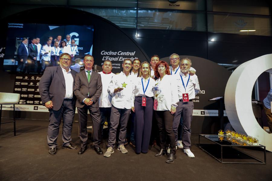Organizadores y patrocinadores de la Ruta española del buen pan 2019