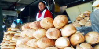 panadería en un mercado