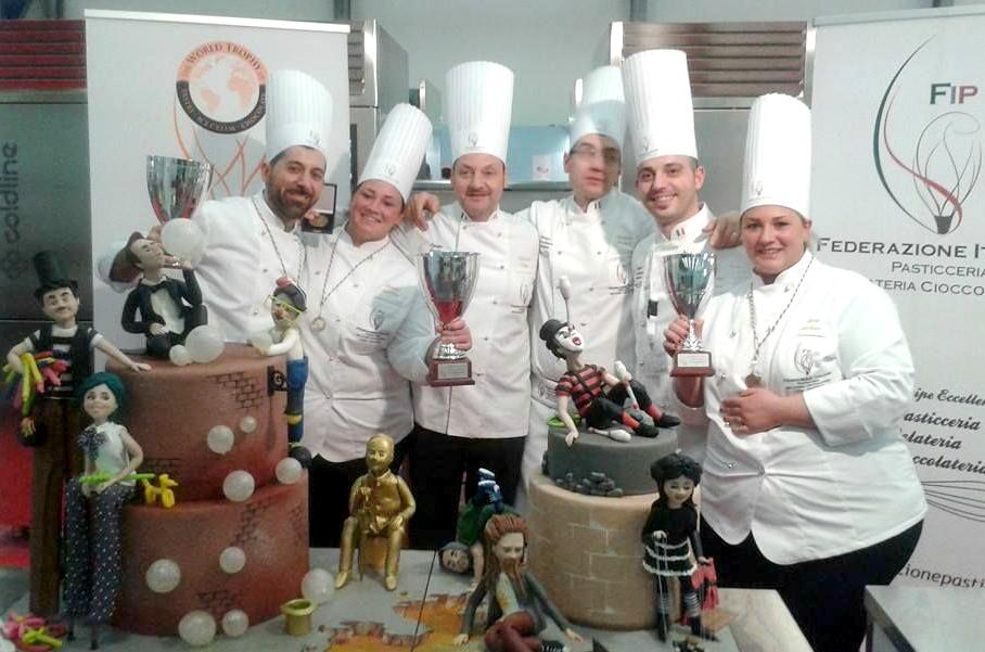 Italia Campeona mundial Cake designer