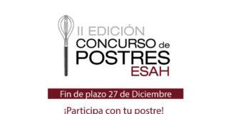 Cartel del II Concurso de postres ESAH