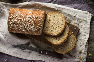 Pan integral con salvado de trigo
