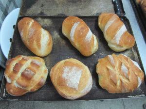 Hogazas elaboradas en el Curso de panadería Desarrollo Romero en Sevilla: 30 variedades con 1 masa
