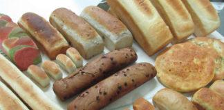 Panes elaborados en el Curso de panadería Desarrollo Romero: 30 variedades con 1 masa en Sevilla