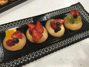 Detalle de pastelería de frutas del Primer curso de pastelería de Revista La Tahona
