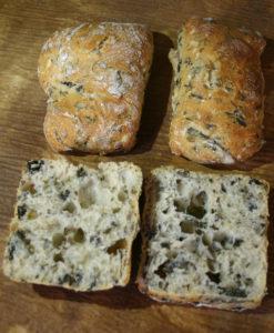 Curso de panes especiales y maridajes - Pan de agua de mar y algas