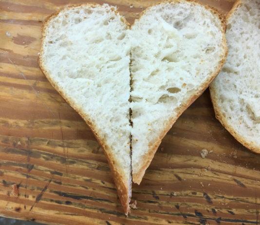 Barra pan abierta