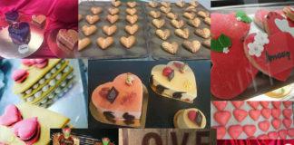 En San Valentín los panaderos y pasteleros dan alas al amor