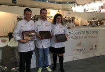 II Campeonato Nacional de panadería artesana podium