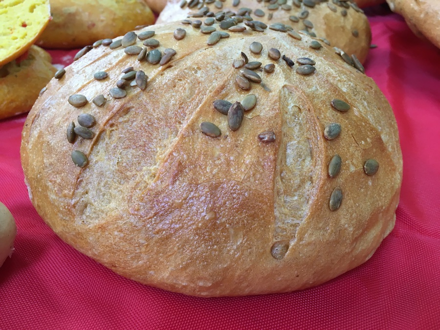 Curso panes de alta gama para restauración - Pan calabaza