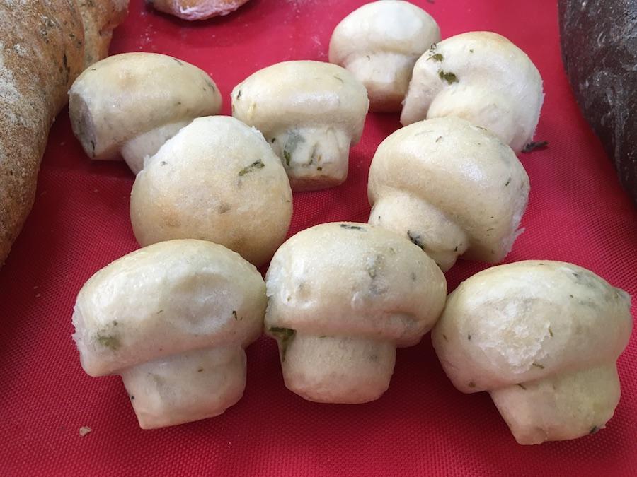 Curso panes de alta gama para restauración - Champiñones de pan
