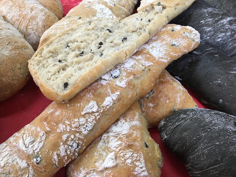 Curso panes de alta gama para restauración - Pan aceitunas
