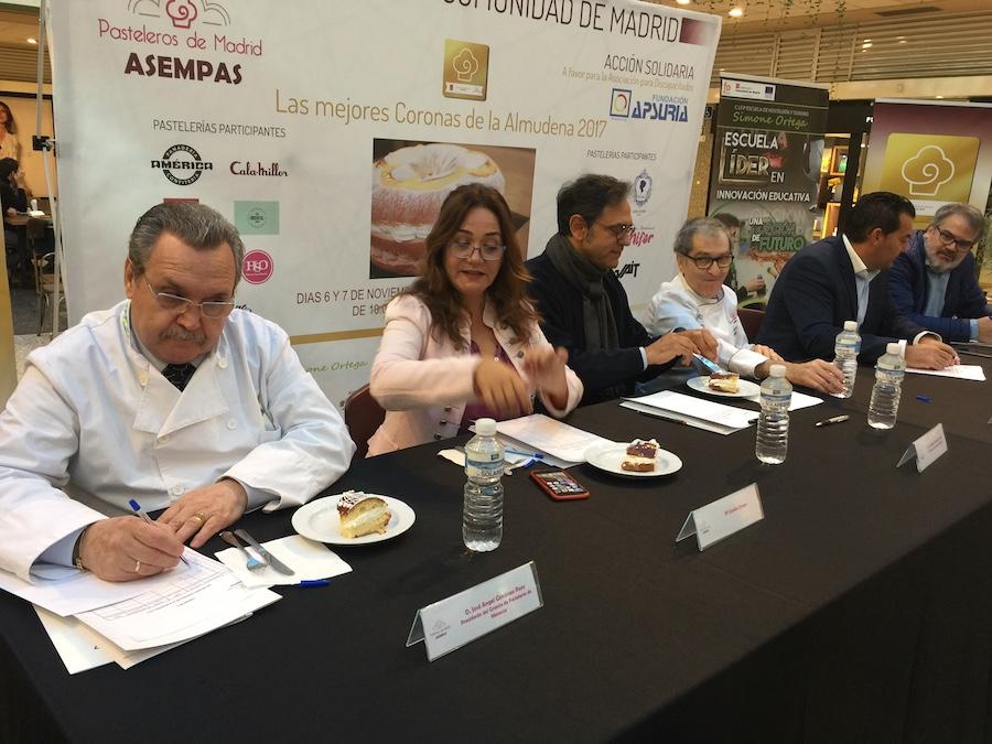 I concurso mejores Coronas de la Almudena 2017 - jurado