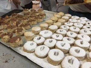 Curso de pastelería de Navidad en Motril - mantecados