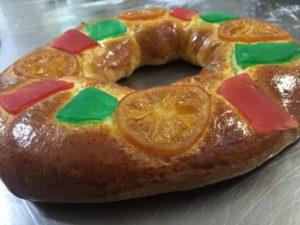 Curso de pastelería de Navidad en Motril - Roscón