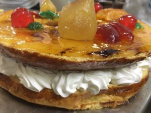 Curso de pastelería de Navidad en Motril - Roscón invertido