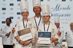 European pastry cup 2018 - Rusia premio chocolate