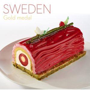 European pastry cup 2018 - Suecia postre helado