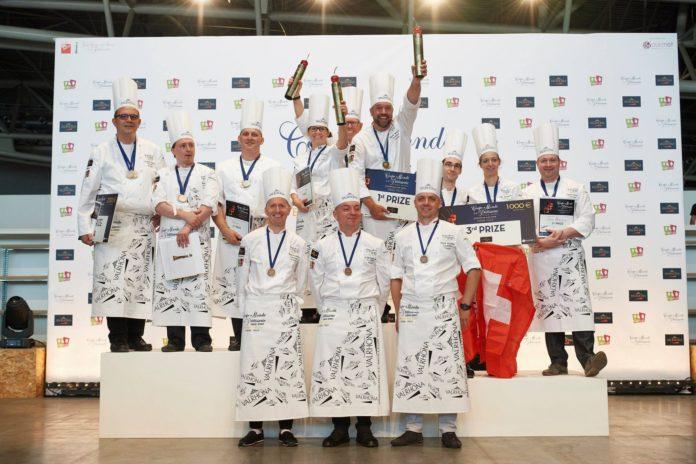 European pastry cup 2018 - podium