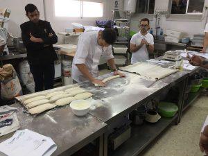 Curso panes de siempre 2.0.con José Roldán en Jerez. Formando