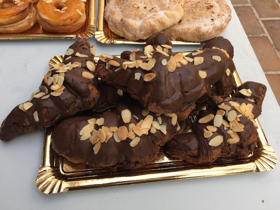 Curso Hojaldre al 100% en Córdoba - croissants con chocolate
