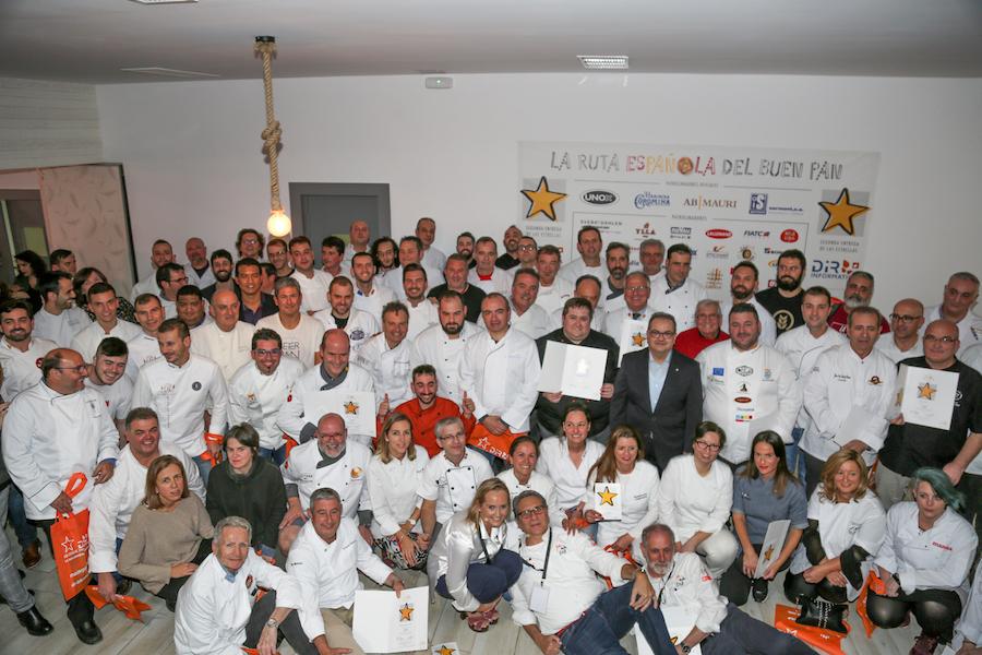 Grupo de la Final de la Ruta Española del buen pan 2018