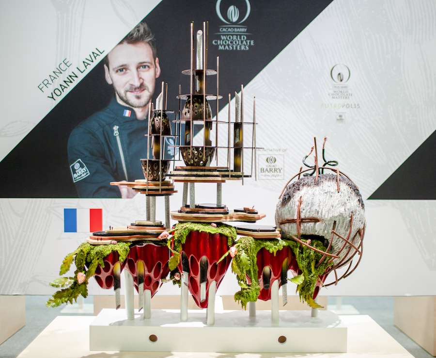World Chocolate Master 2018 - Pieza artística Yoann Laval