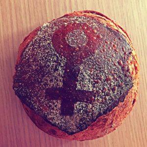 Detalle pan por la igualdad - 8 de marzo