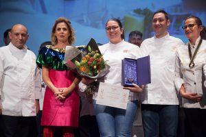 PASTELERÍA AMATEUR - 1PREMIO Teresa Sánchez Alumna de 1 de Grado Superior de Mediterráneo Culinary Center en Valencia