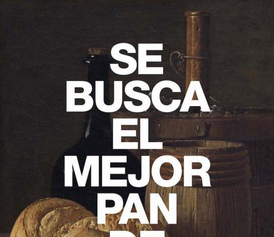 """Cartel del concurso """"El Mejor pan de Madrid"""""""