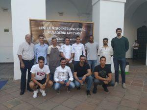 I Encuentro internacional de panadería artesana - Visita deportistas