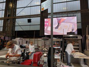 Los Espigas compitiendo en la 20ª Copa de Europa de panadería