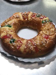 """2º premio del I Concurso """"Mejor Roscón de Reyes"""""""